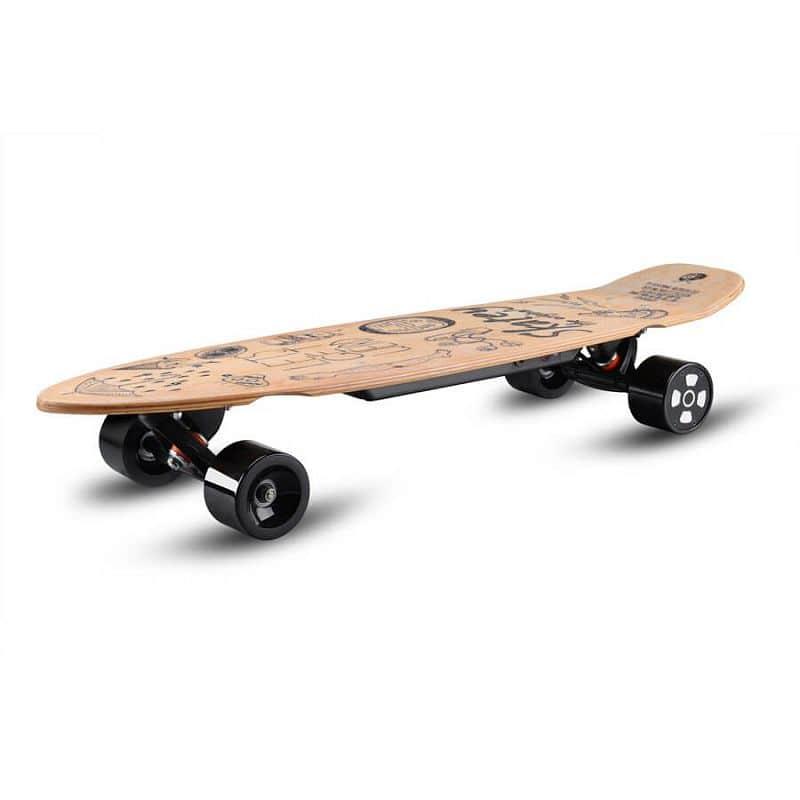 Elektrický longboard Skatey 350L wood art Skatey
