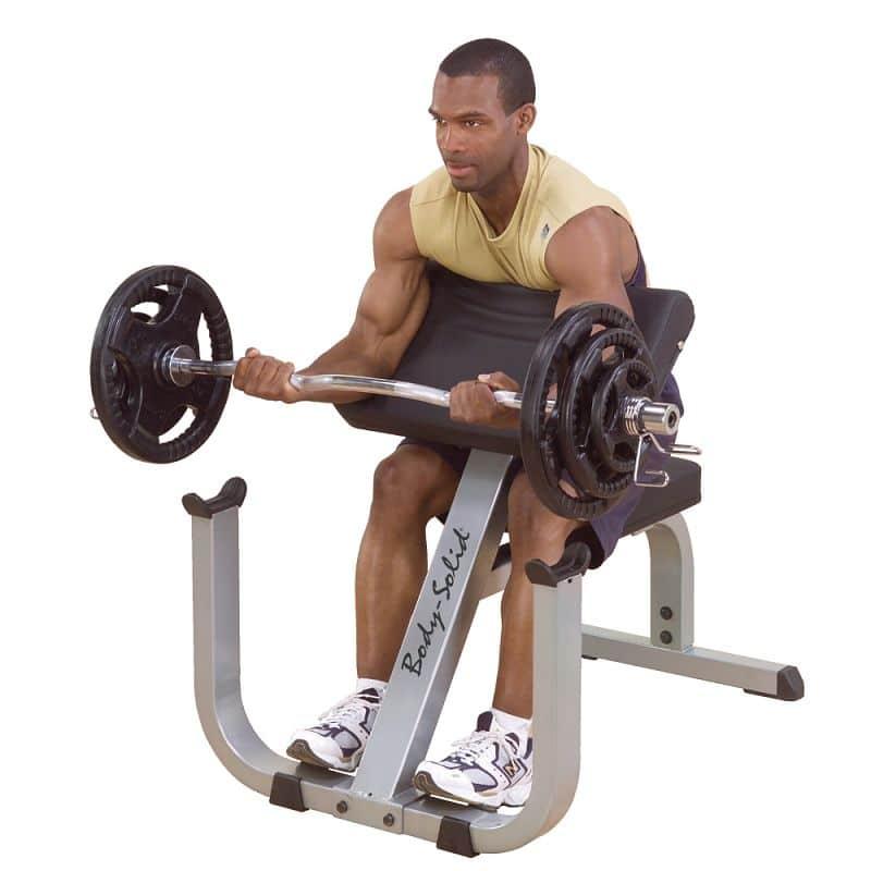Posilovač bicepsů Body-Solid Curl Bench GPCB329