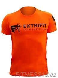 Levně Extrifit triko pánské 09 L - oranžová