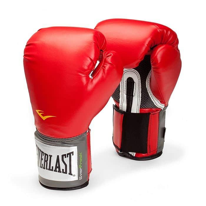 Everlast Pro Style Elite Training Gloves 8oz červené