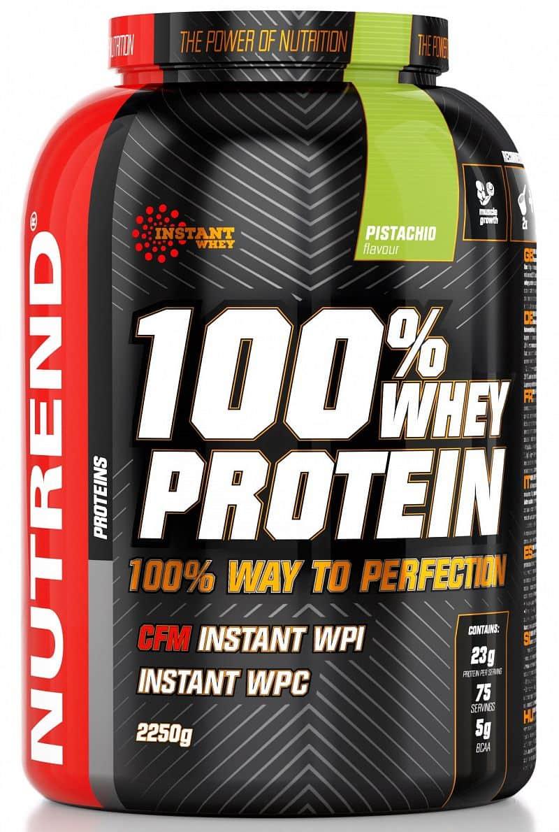 Nutrend 100% Whey Protein 2250g Ledová káva