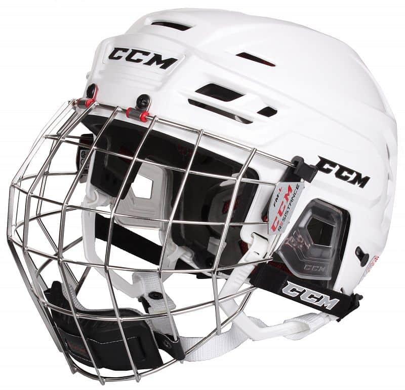 Resistance Combo hokejová helma s mřížkou barva: černá;velikost oblečení: S