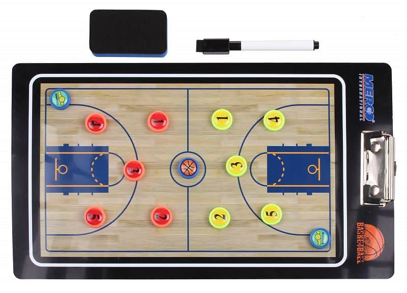 Basketbal 65 magnetická trenérská tabule, s klipem