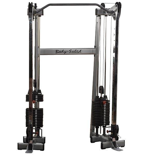 Posilovací kladky Body Solid GDCC210 - kladky s hrazdou 2x72,5 kg - montáž zdarma, servis u zákazníka