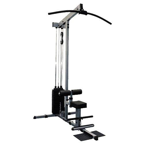 Body Solid GLM84 Pro Lat Machine + 95 kg závaží - servis u zákazníka