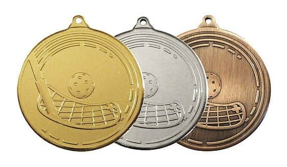 MDS13 medaile barva: zlatá