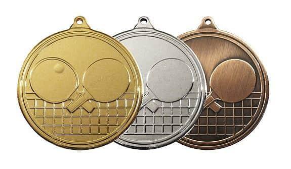 MDS15 medaile barva: zlatá