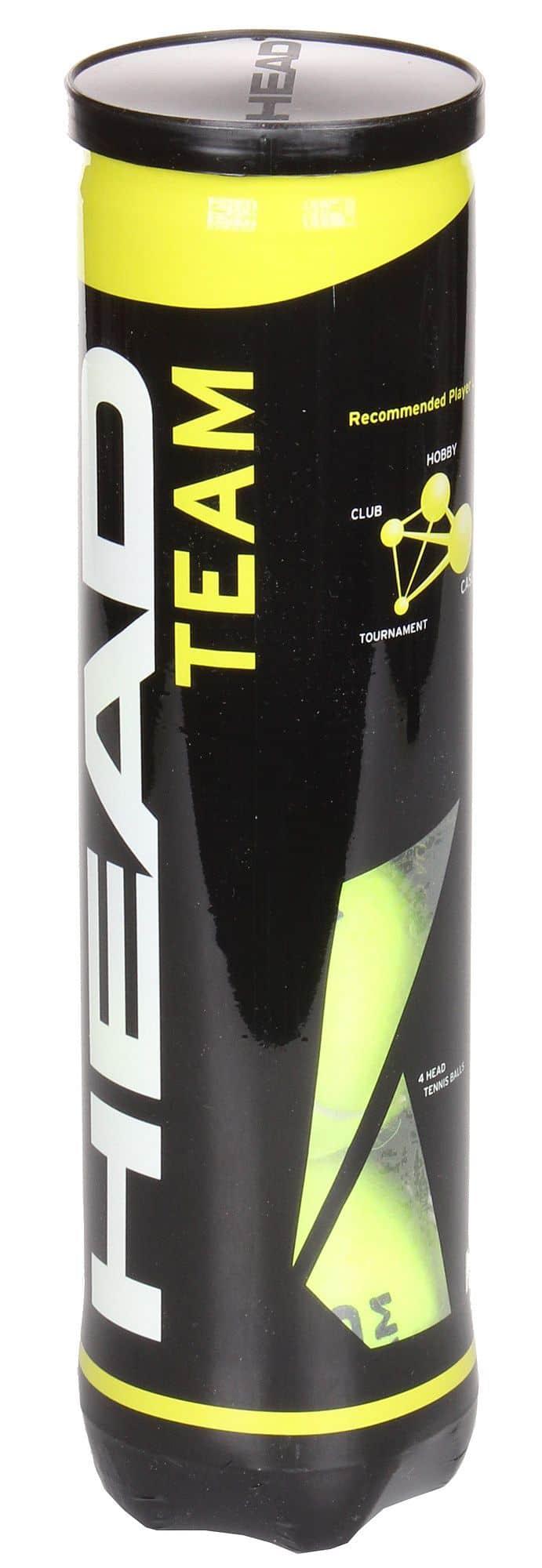 TEAM tenisové míče balení: 4 ks