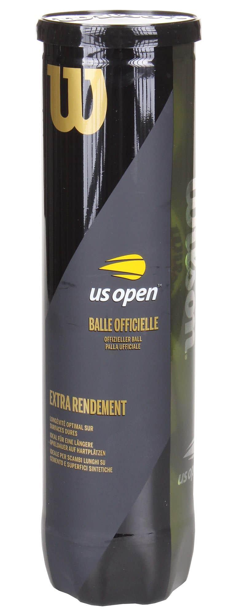 US Open tenisové míče balení: 4 ks