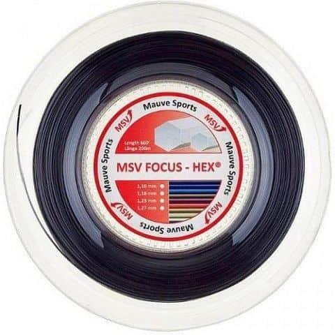 Focus HEX tenisový výplet 200 m průměr: 1,18;barva: červená