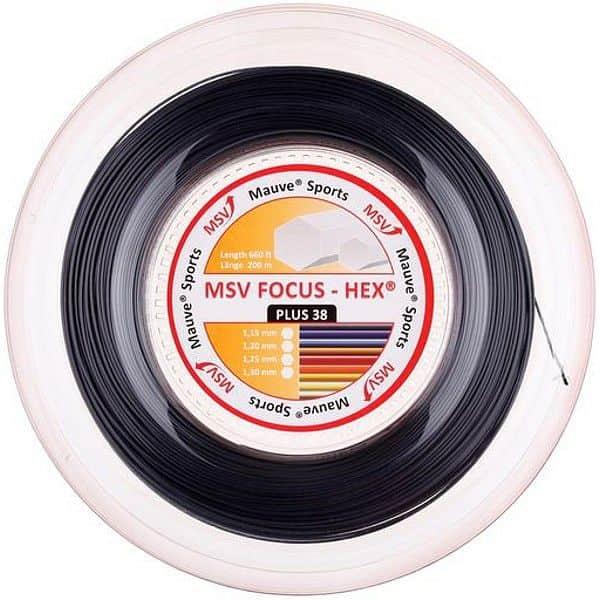 Focus HEX Plus 38 tenisový výplet 200 m průměr: 1,30;barva: červená