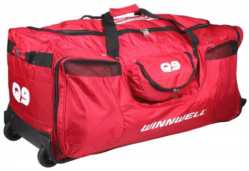 Q9 Wheel Bag taška na kolečkách barva: černá;rozměr: junior