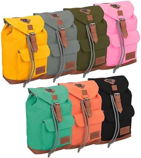 Dětský batoh Abbey Leather Strap  5a01ab04c2