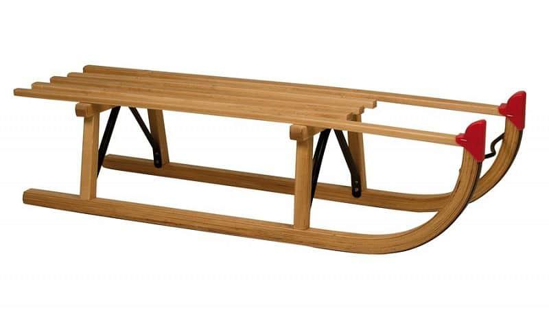 Sáňky dřevěné DAVOS 100cm