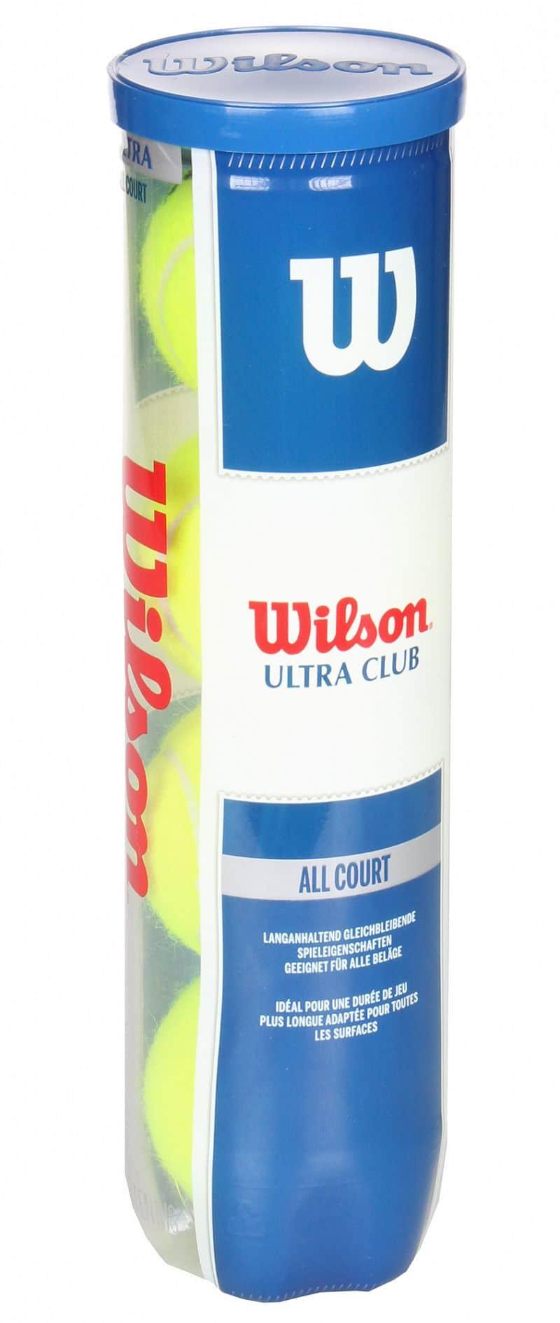 Ultra Club tenisové míče balení: 4 ks