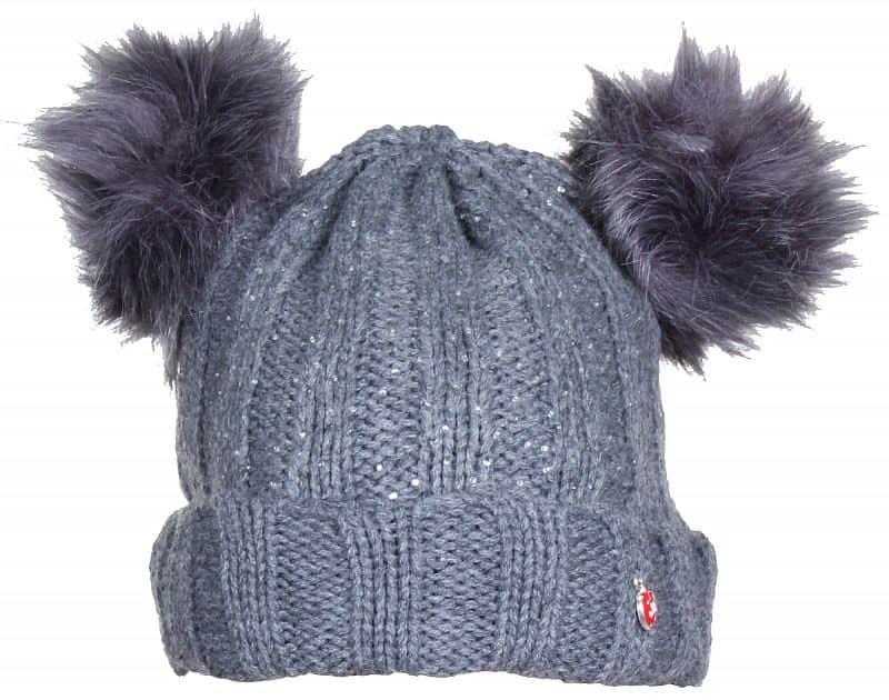 Pet Beanie dětská zimní čepice barva: šedá