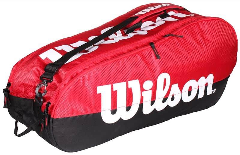 Team 2 Comp 2019 taška na rakety barva: červená