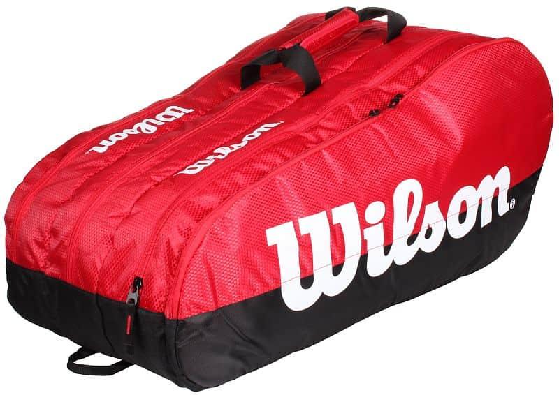 Team 3 Comp 2019 taška na rakety barva: červená