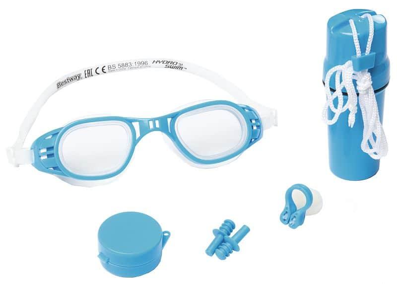 Plavecký set 26002 dětské plavecké brýle barva: modrá
