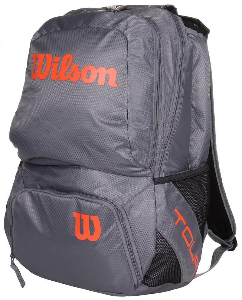 Tour V Backpack M sportovní batoh barva: šedá-oranžová