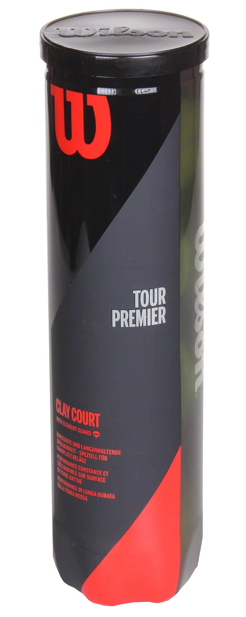 Tour Premier Clay tenisové míče Balení: 4 ks