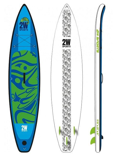 Touring 2019 SUP paddleboard, 11´6