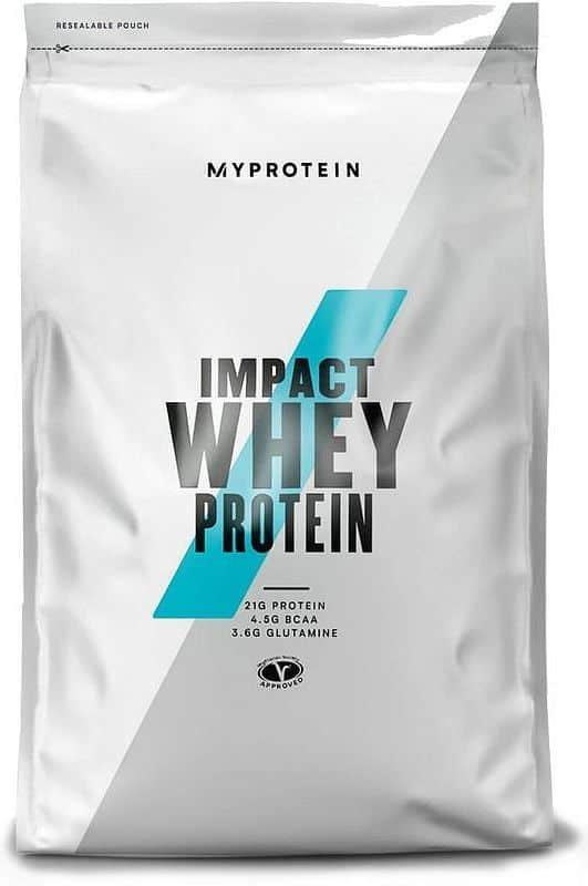 MyProtein Impact Whey Protein 2500 g Čokoláda - Burákové máslo