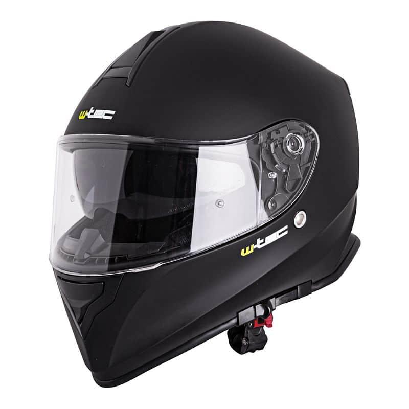 Moto helma W-TEC V127 Barva černá s grafikou, Velikost S (55-56)