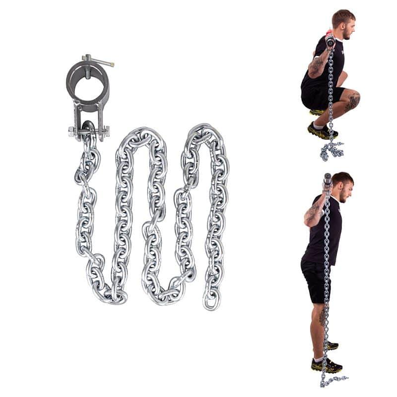 Vzpěračský řetěz inSPORTline Chainbos 5 kg