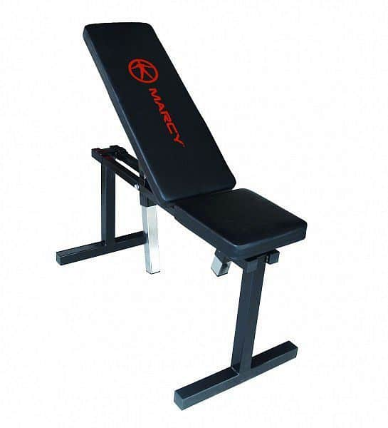 Posilovací lavice Marcy Adjustable Flat Bench UB5000