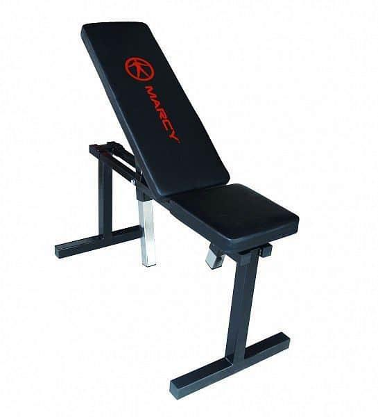 Posilovací lavice Marcy Adjustable Flat Bench UB5000