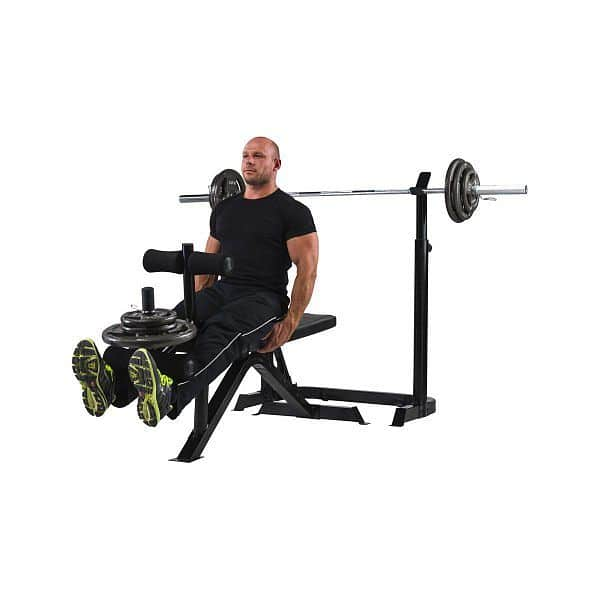 Posilovací lavice Marcy Mid Width Barbell Bench BE3000