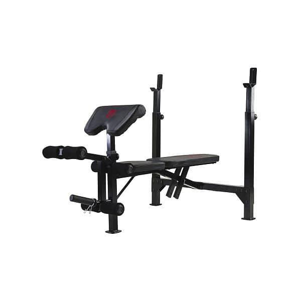 Posilovací lavice Marcy Olympic Width Barbell Bench BE5000