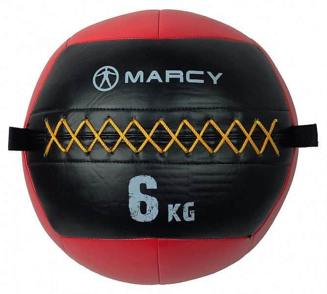 Marcy míč pro funkční trénink Wall Ball 6kg, červený