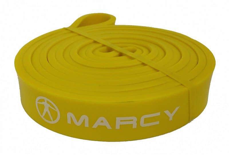 Marcy posilovací guma Power Band Light, žlutá