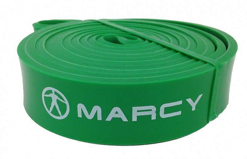 Marcy posilovací guma Power Band Medium, zelená