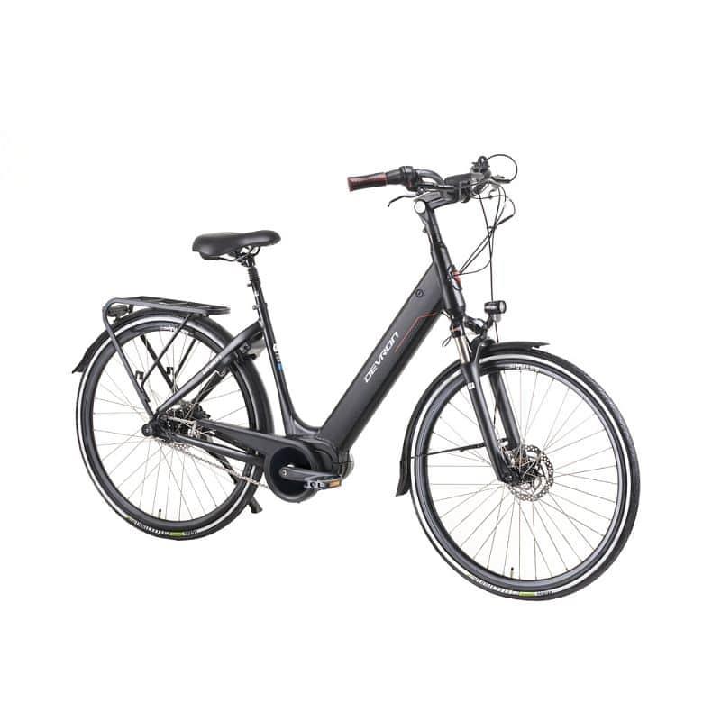 """Městské elektrokolo Devron 28426 28"""" - model 2019 Barva Black, Velikost rámu 19,5"""" - montáž zdarma, servis u zákazníka"""