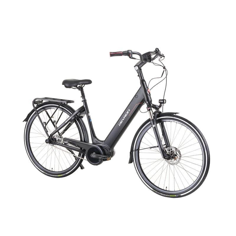 """Městské elektrokolo Devron 28426A 28"""" - model 2019 Barva Black, Velikost rámu 19,5"""" - montáž zdarma, servis u zákazníka"""