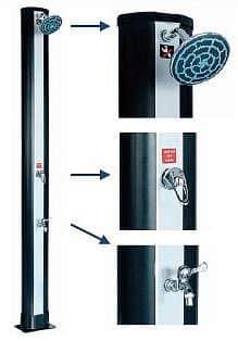 Solární sprcha HANSCRAFT BLUE RAINBOW 2 - 34 l