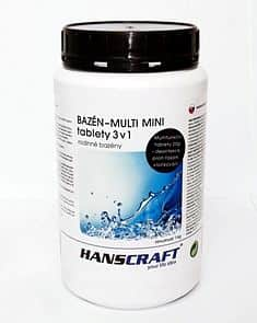 HANSCRAFT BAZÉN - MULTI MINI tablety 3v1 - 1 kg