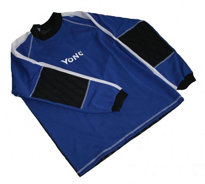 Florbalový dres brankářský Standard velikost XL modrý - XL