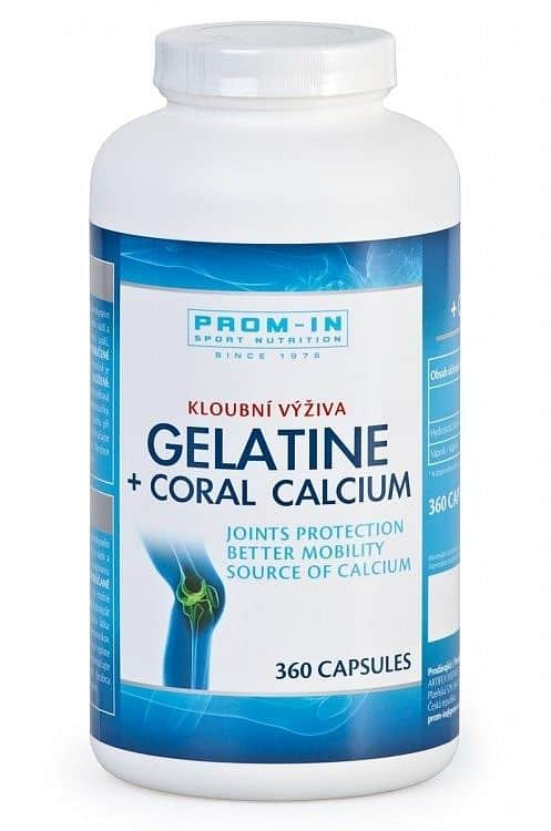 Gelatina + Coral Calcium 360cps.