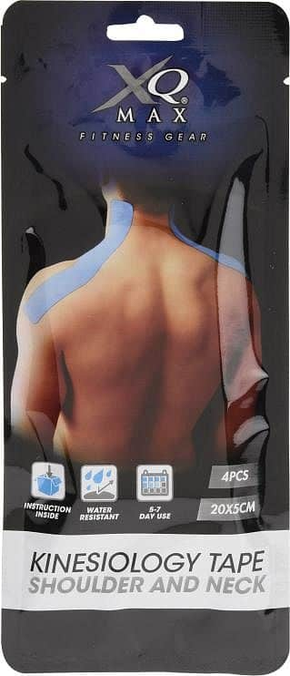 Kinesiology Shoulder Neck Tape - Tejpovací páska Ramena 20x5 cm - 4ks
