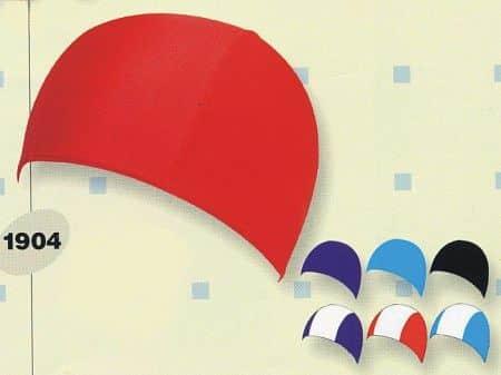 Koupací čepice LYCRA 1904 červená - červená