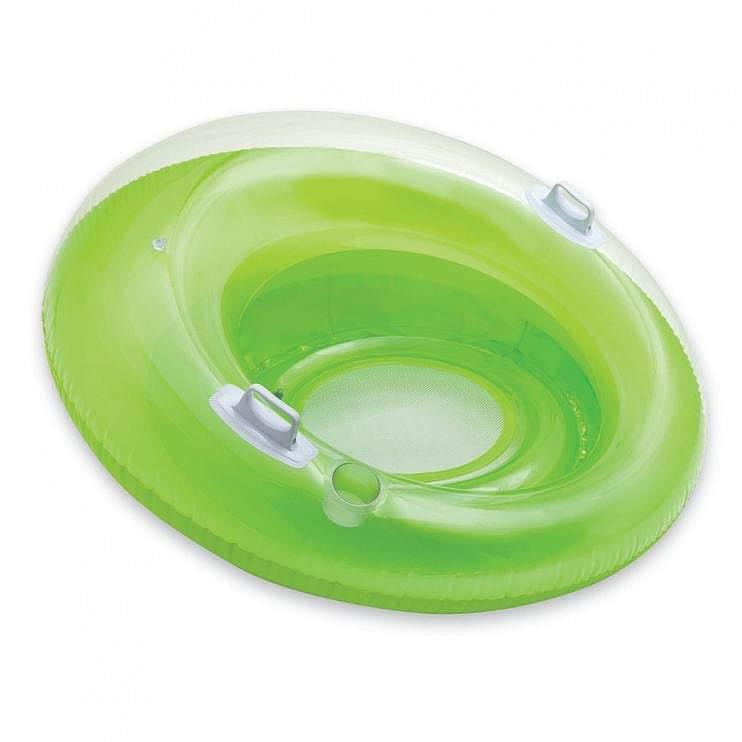 Nafukovací křeslo INTEX 58883 119 cm - Zelené