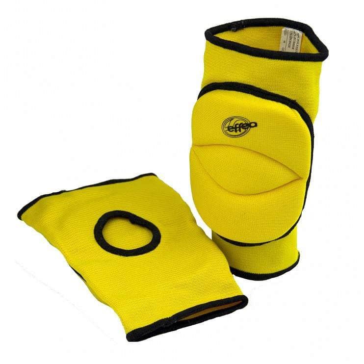 Chrániče kolen EFFEA 6644 SENIOR žluté - žlutá