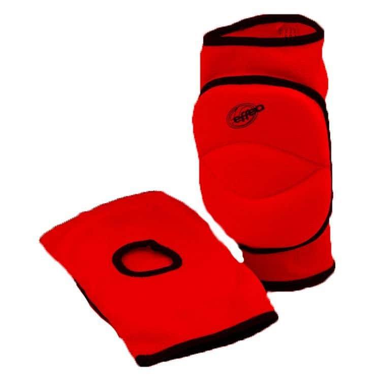 Chrániče kolen EFFEA 6644 SENIOR červené - červené