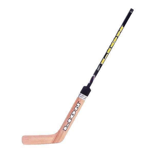 Hokejová brankářská hůl pravá délka 125 cm LION - pravá