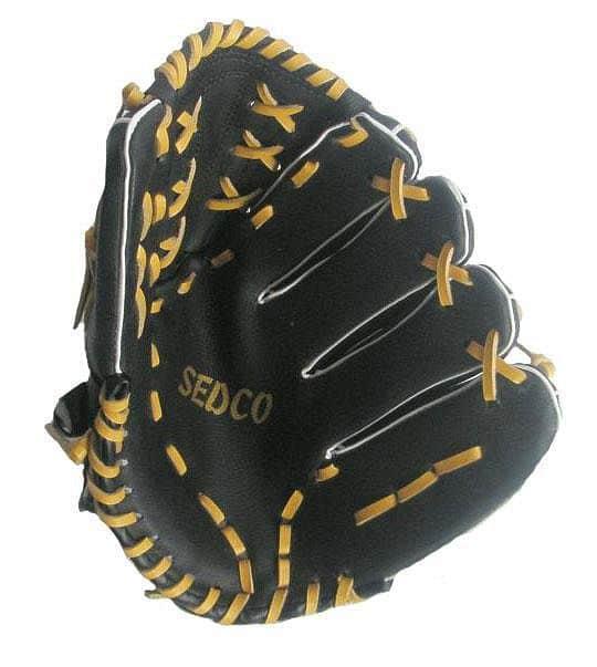 """Levně Baseball rukavice DH-120 syntetická useň 12"""" Richmoral černá - Levá"""