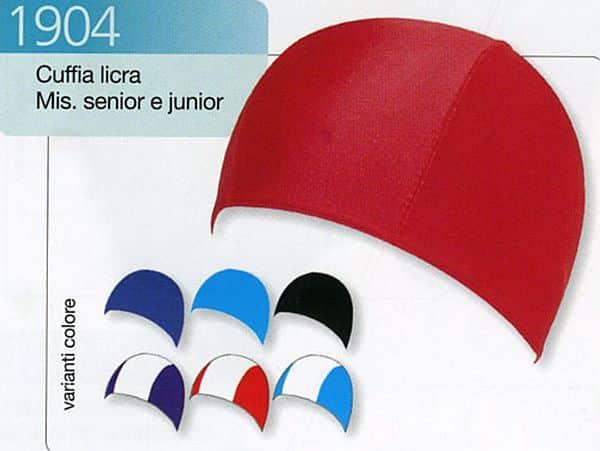 Koupací čepice LYCRA JR 1904 tyrkysová - Světle modrá - tyrkysová